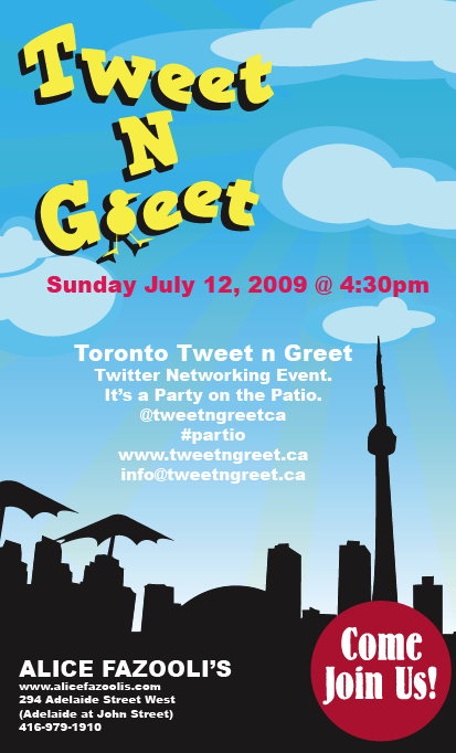 Toronto Twitter Networking Event